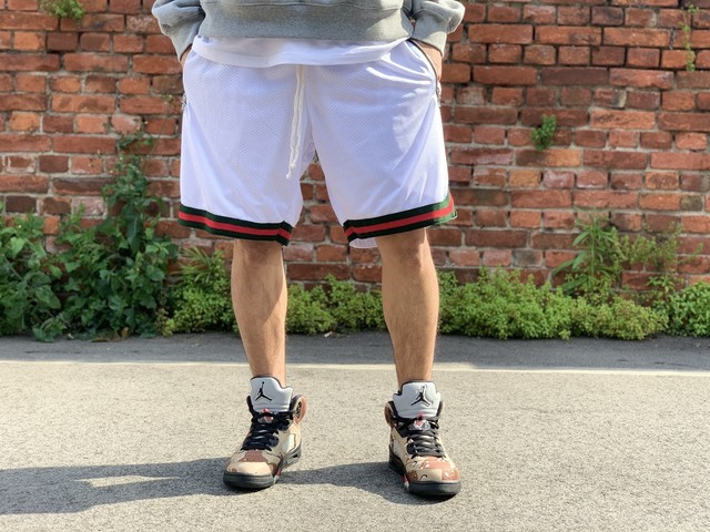 MINTCREW Mesh Basketball Shorts MEDIUM WHITE 25HK9417