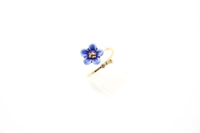 有田焼リング flower 13