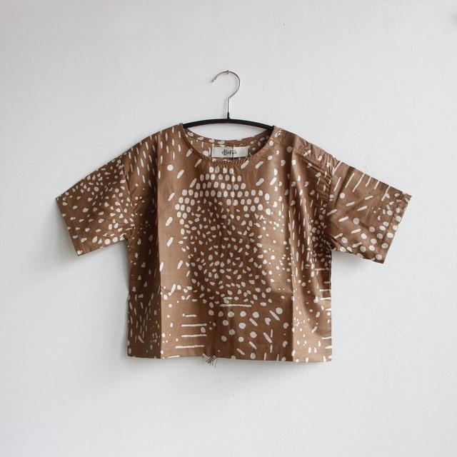 《eLfinFolk 2021SS》QiLin T shirts / brown