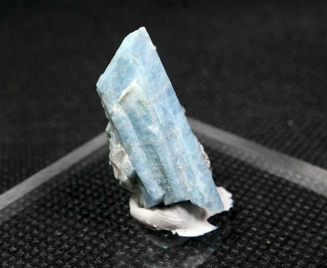 自主採掘!ブルーベリルアクアマリン カリフォルニア産  4,2g 原石 AQ085 鉱物 原石 天然石 パワーストーン