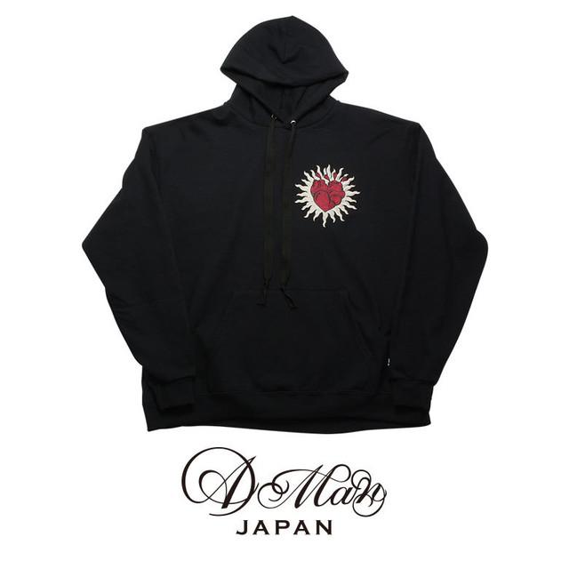 A Man Embroidery Hooded Sweatshirt エーエムエーエヌ エンブロイダリー フーデッドスウェットシャツ