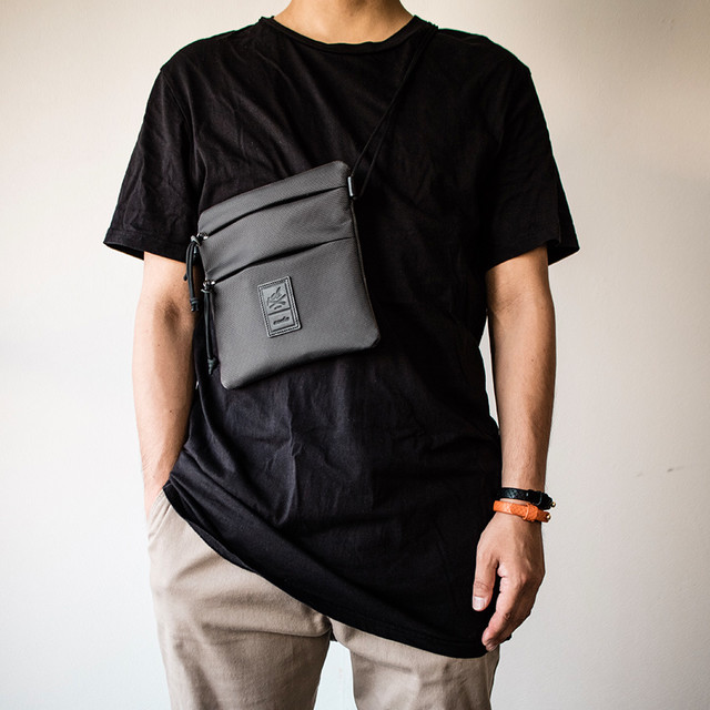 サコッシュ 防弾チョッキ生地 ショルダーバッグ Sacoche Shoulder Bag