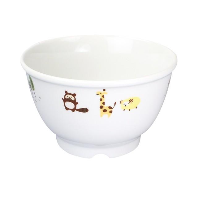 【1742-1350】強化磁器 10.5cm子ども汁碗 ホリデー