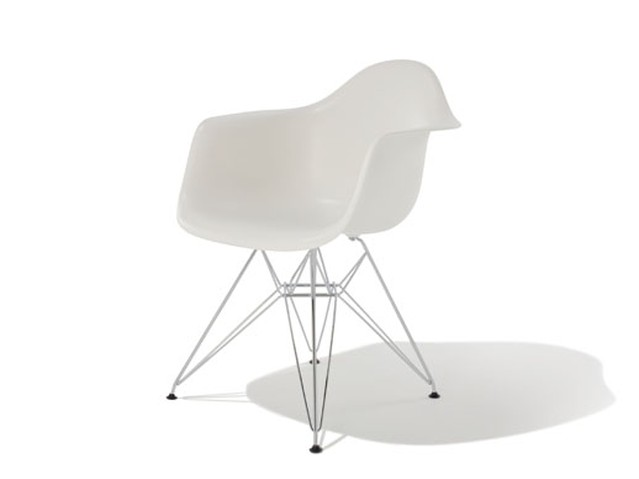 Eames Shell Arm Chair DAR Chrome Base - チャールズ&レイ イームズ