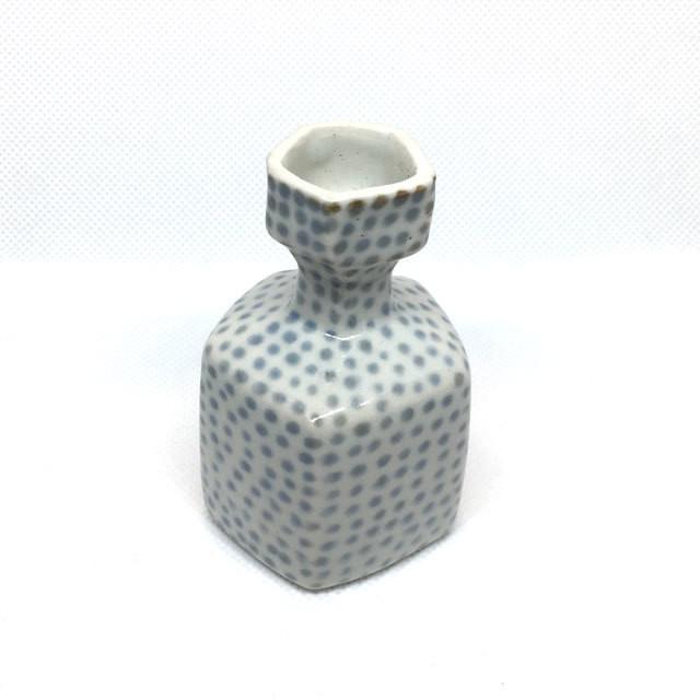 【砥部焼/山中窯】プチ花瓶(十草)