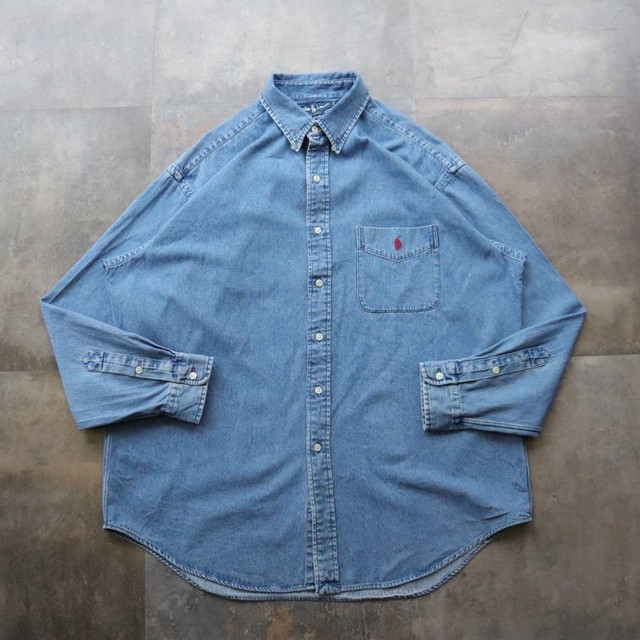 Ralph Lauren one point denim shirt
