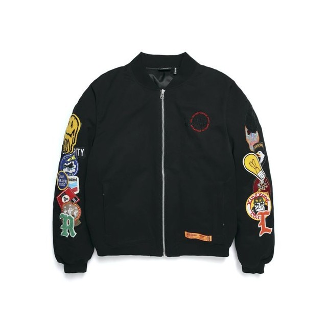 LIMITED WAPPEN DOWN BOMBER JACKET / BLACK