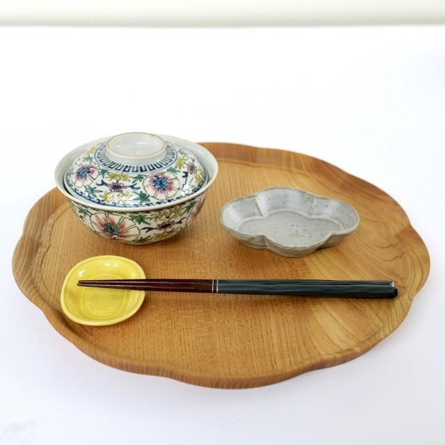 四十沢木材工芸 KITO  輪花盆(りんかぼん)・ 大【写真の商品をお届けします】