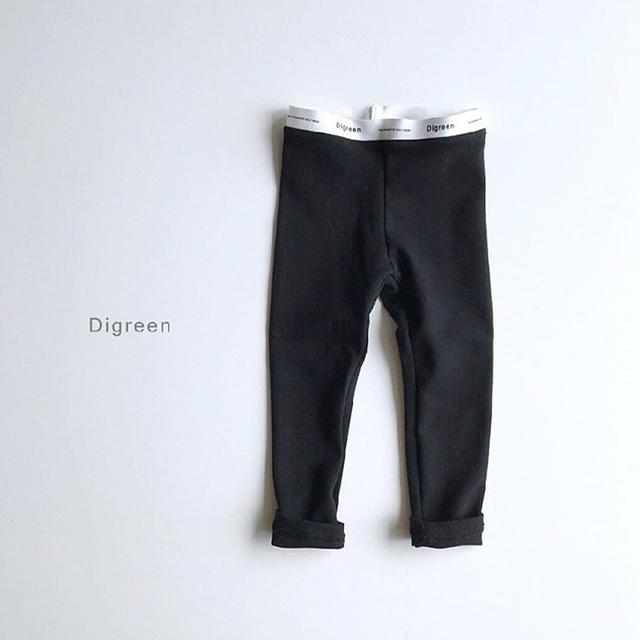 定番コットンレギンス [black]