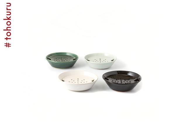 大堀相馬焼 陶吉郎窯|水切り皿