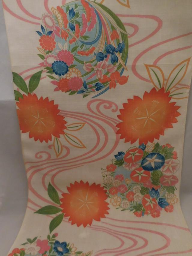 四つ身反物 a roll of cloth for summer Kimono