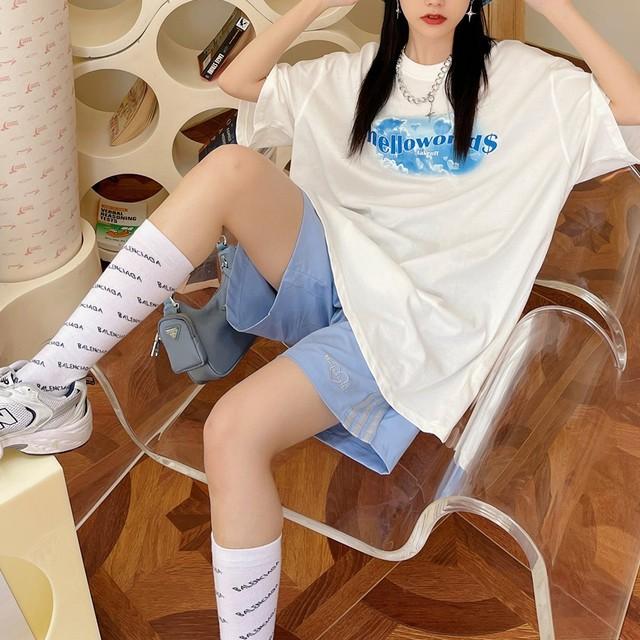 HELLOWORLDプリントTシャツ(全2色) / HWG422