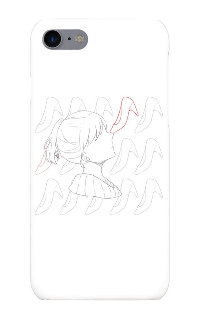 iphone7 スマートフォンケース パンプス