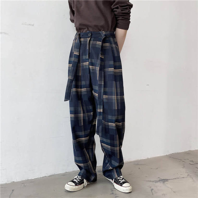 belt check pants PD1776