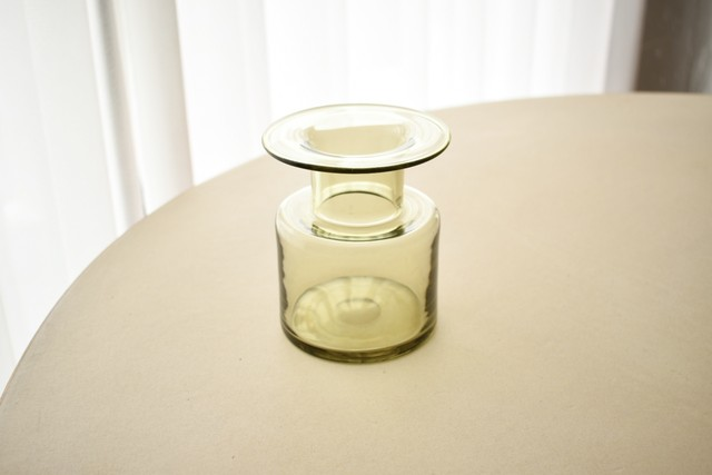 Holmegaard glass vase(Per Lutken)