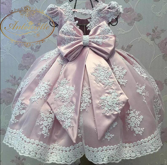 kids import dress flower pink positive spanish girl colorful happy formal party garden princess dress  インポートドレス  ピンク 子供 キッズ カラフル お姫様
