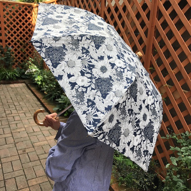 リバティ折たたみ傘 晴雨兼用