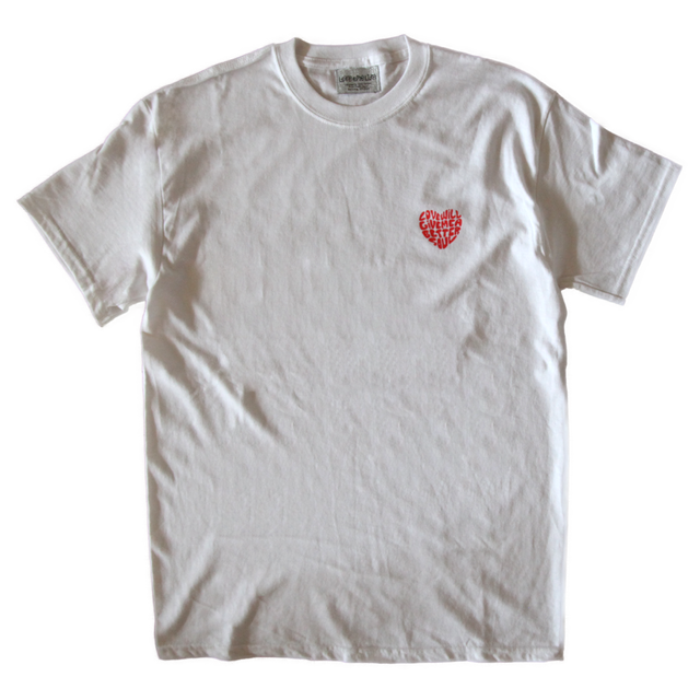 love will give me a better soul tee in white