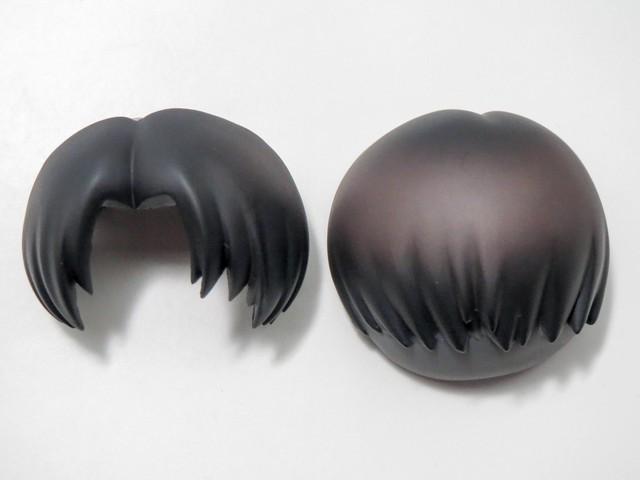 【390】 リヴァイ 髪パーツ ショート ねんどろいど