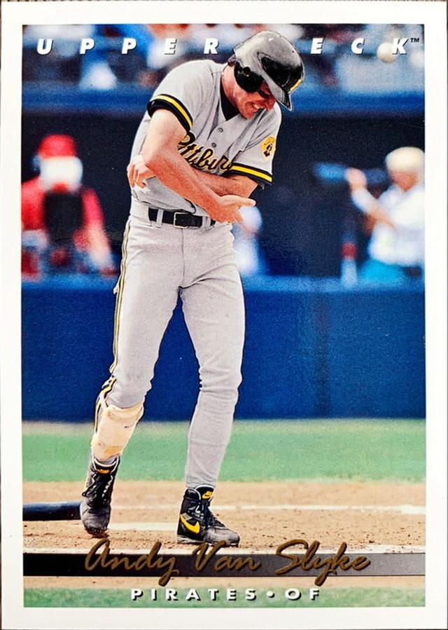 MLBカード 93UPPERDECK Andy Van Slyke #124 PIRATES