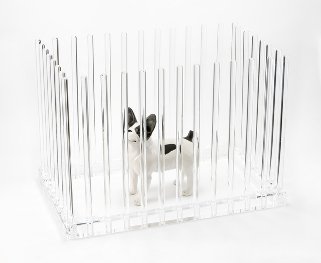 【 期間限定価格 】デザイン会社がつくった、犬用ペットサークル・ケージ『Parthenon』| ペットデザイン家具ブランド「a i u e o CASA」