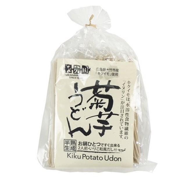 水溶性食物繊維イヌリンが豊富!菊芋うどん