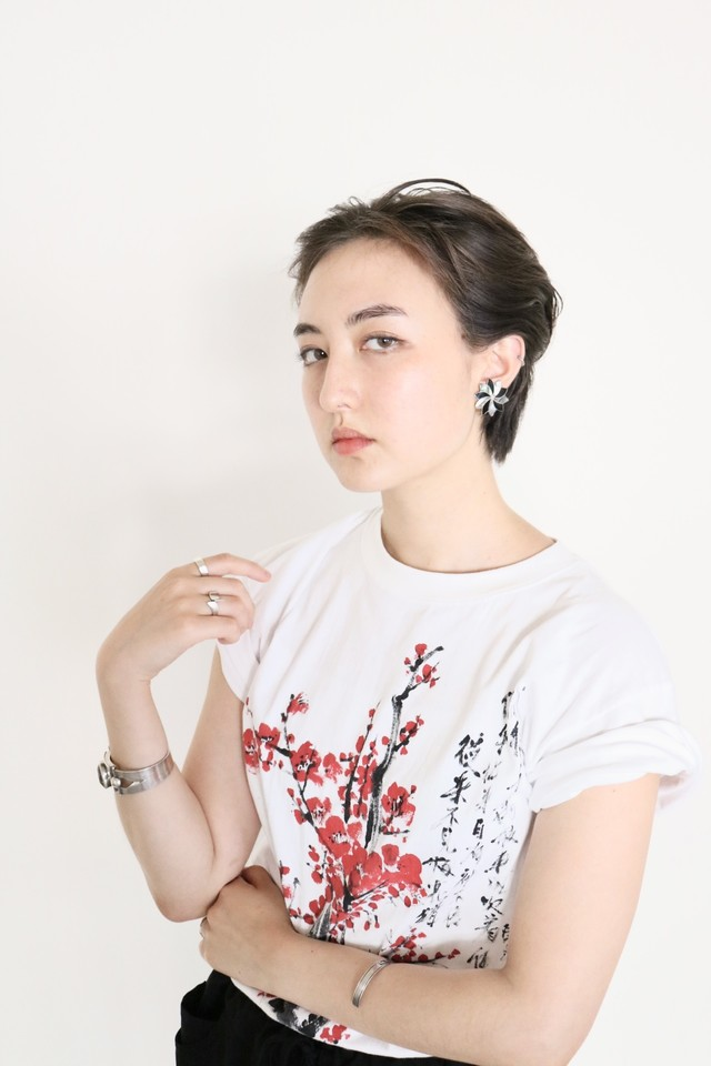 Vintage hand-painted t shirt