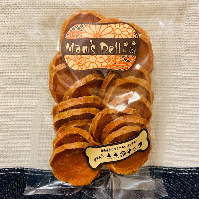 Mam's Deli どさんこ ささみチップ【無添加・無着色】(18枚)