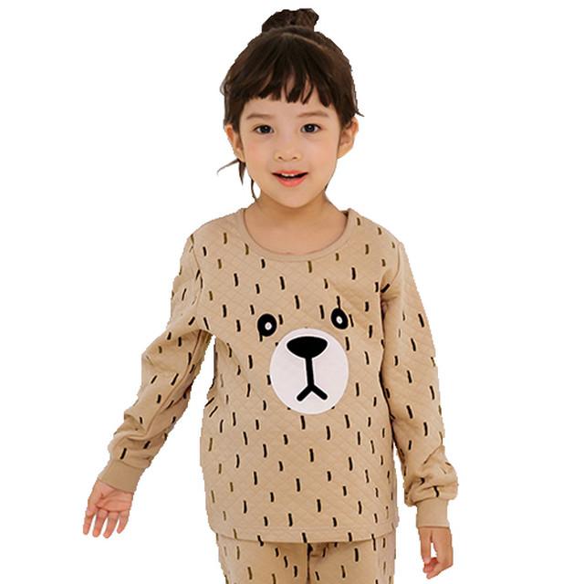 くまのキルティング ルームウェア / 韓国子供服