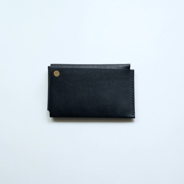 square wallet - bk - プエブロ
