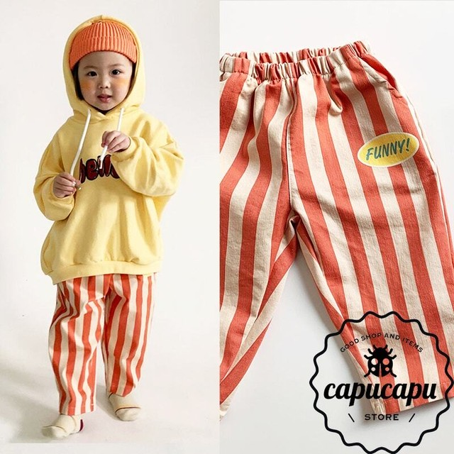 [sold out] Funny! striped pants  ストライプ パンツ