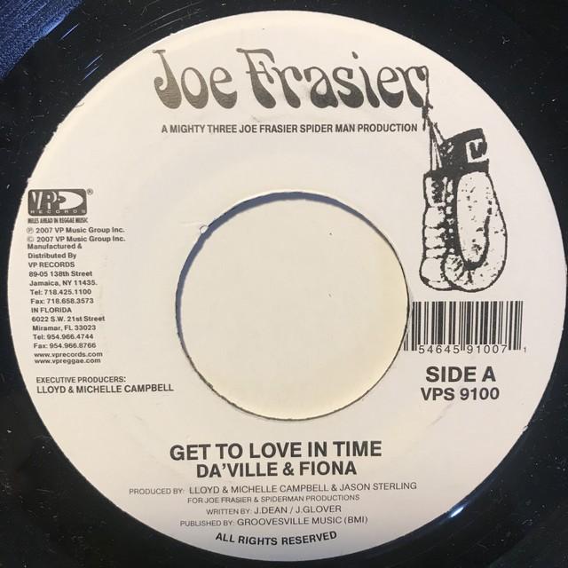 Da'ville & Fiona - Get To Love In Time【7-10836】