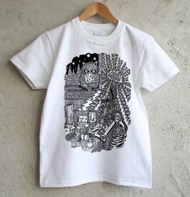 のら珈琲×俵谷哲典 コラボレーションTシャツ《黒》&《青》