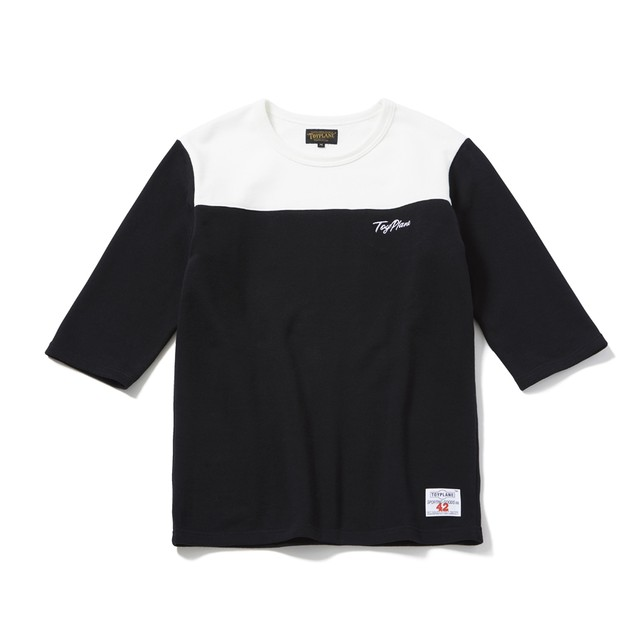 TOYPLANE / TP18-HSW02 / 1/2 SLEEVE FOOTBALL SWEAT