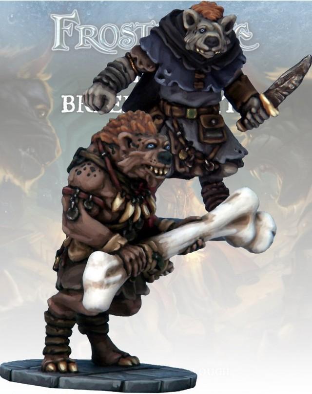 ノールの盗賊&蛮族(Gnoll Thief & Barbarian)