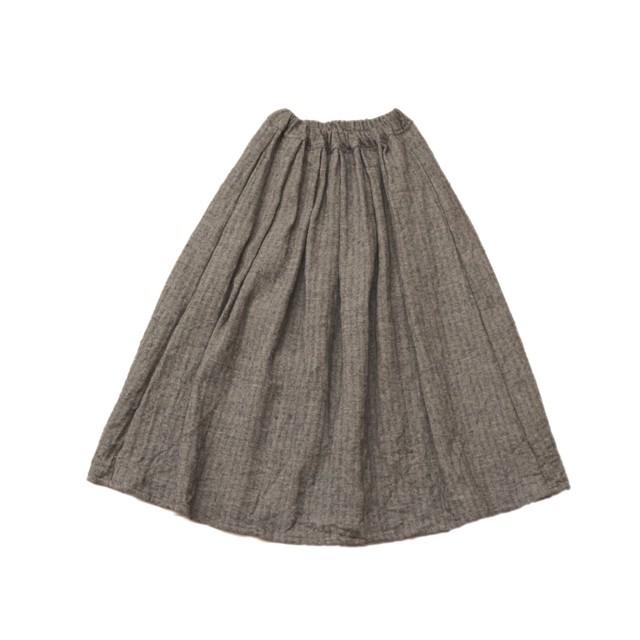 ウールリネン*ロングスカート