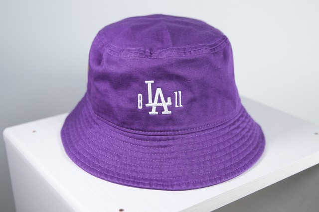 b'LA'ZZ BUCKET HAT [PURPLE]