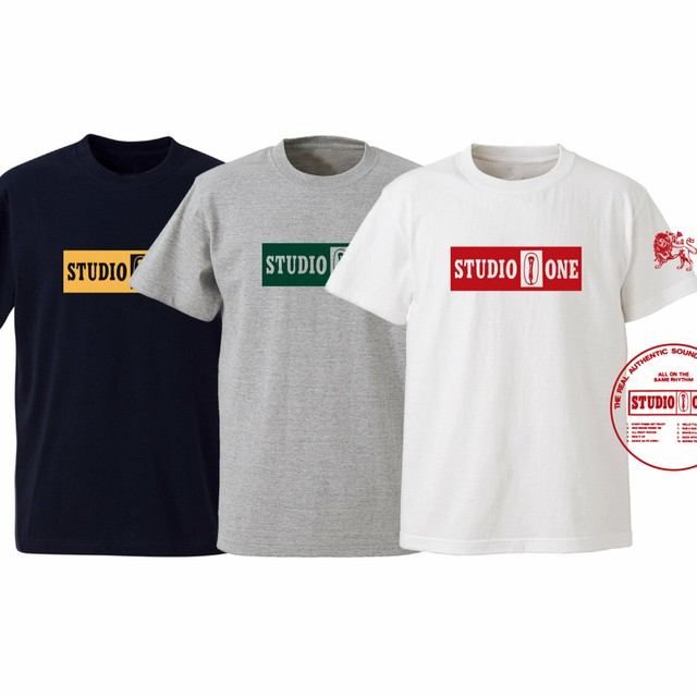 STUDIO ONE Label Tee 【OR GLORY】