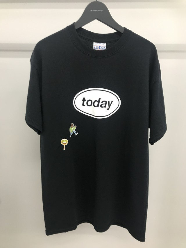 TODAY edition / TODAY SS TEE(BLK)