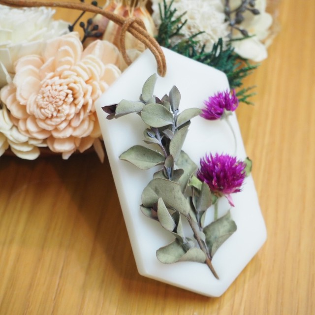 【wisterio+aroma】アロマワックスサシェ・11月作品③