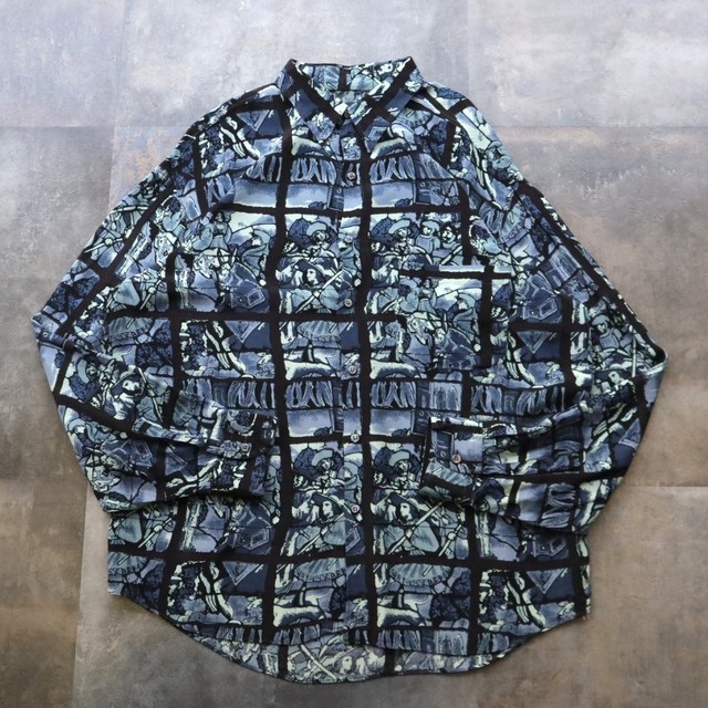 made in Italy classical design shirt