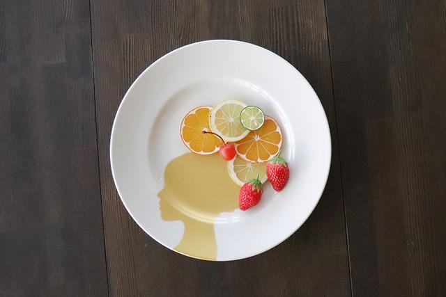 『プレート』『クイーン』『丸皿』   28cm   『GOLD QUEEN PLATE』   *遊び心のある皿 子供 喜ぶ ギフト 女性 娘 プレゼント