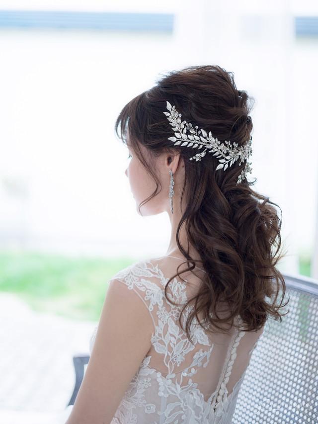 ブライダルヘッドドレス[HA-070]