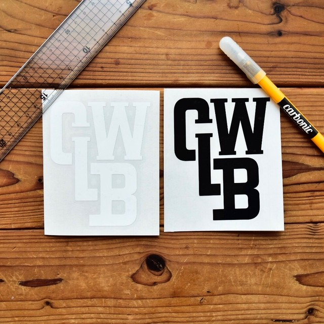 carbonic CLBW cutting sticker (L)