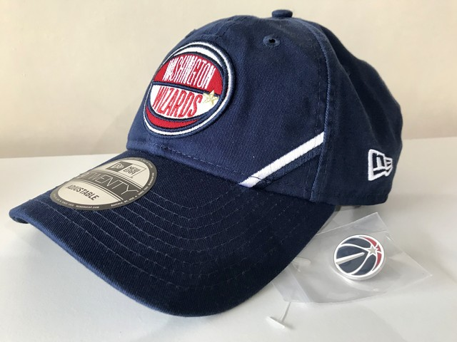 NEW ERA WASHINGTON WIZARDS 2019 NBA DRAFT 9TWENTY CAP (NAVY)