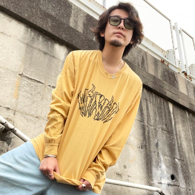 【WillxWill × Musollon】スペシャルコラボレーション Logo Long Sleeve Yellow