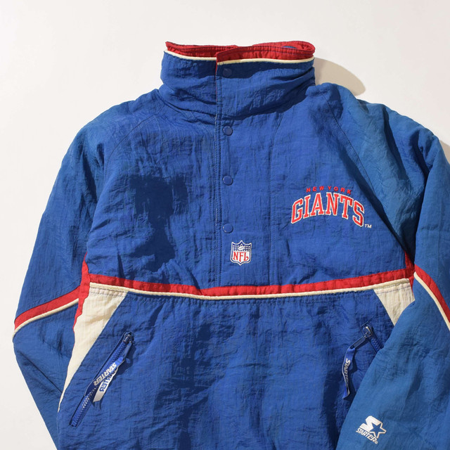 【Mサイズ】STARTER スターター GIANTS ジャイアンツ JACKET ジャケット BLUE ブルー 400610190906