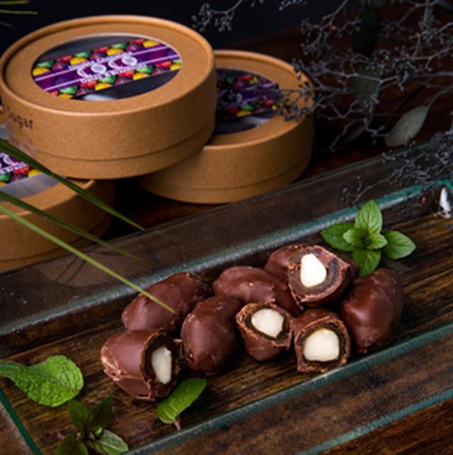 【京都丹波産赤ワイン】COCO Double Choco Dates & Brazil Nuts 【デーツ&ブラジルナッツ】