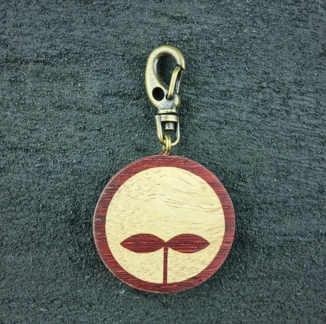 wooden inlaid charm IH-005-PD