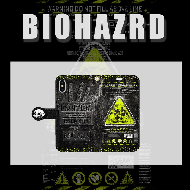 BIOHAZARD case 手帳型